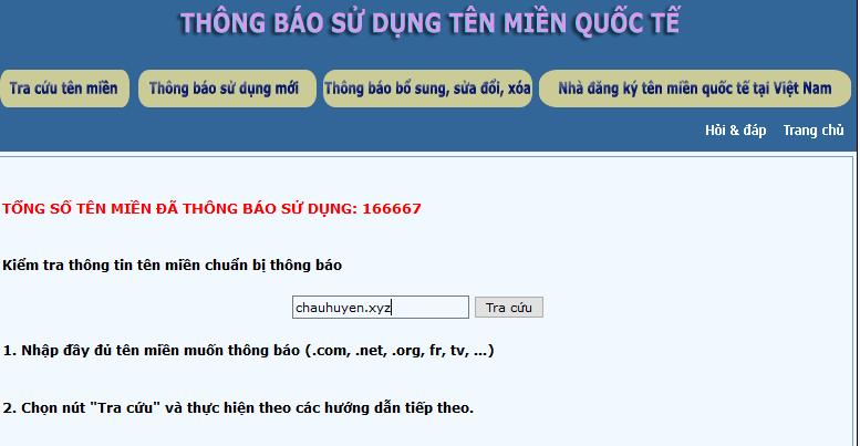 trang thongbaotenmien