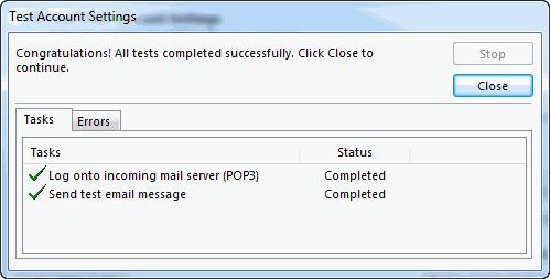 Cấu hình Mail Outlook 2016