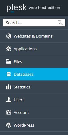chọn databases