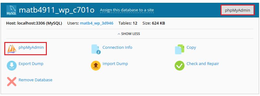 cập nhật thông tin database