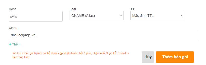 Hướng dẫn cấu hình DNS tên miền