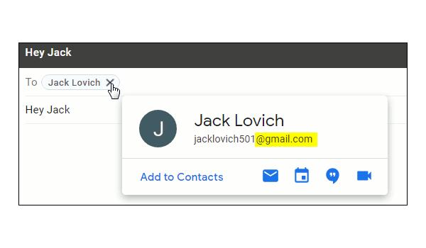 Email cá nhân có đuôi là tên miền của nhà cung cấp