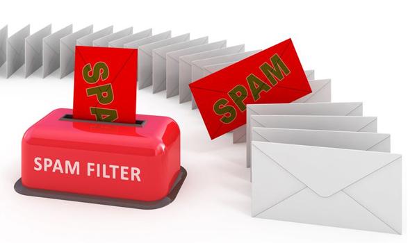 Email tốt có hệ thống lọc thư spam
