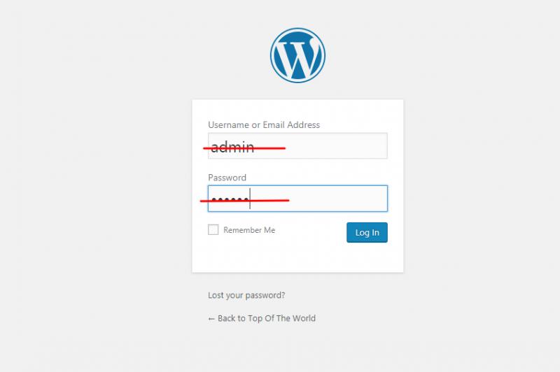 Screenshot 3 800x532 - Hướng dẫn bảo mật WordPress thông qua 12 bước - Trung tâm hỗ trợ kỹ thuật