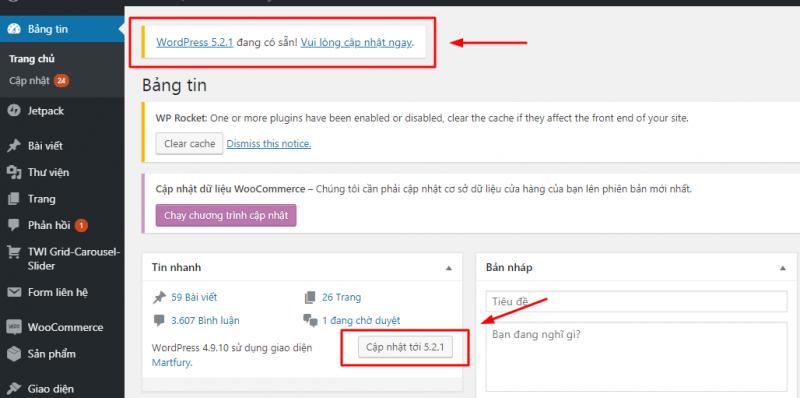 Screenshot 800x398 - Hướng dẫn bảo mật WordPress thông qua 12 bước - Trung tâm hỗ trợ kỹ thuật