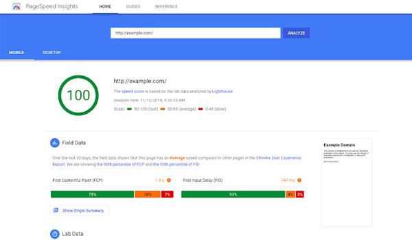 Google PageSpeed Insights là công cụ giúp kiểm tra tốc độ tải trang