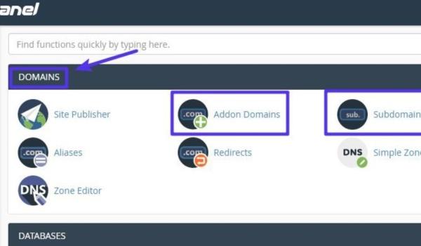 Làm gì để thêm domain/subdomain mới với cPanel