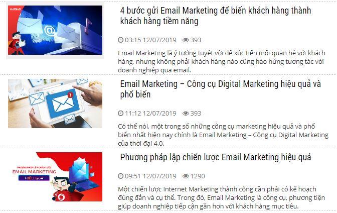 Post thumbnail là một ví dụ điển hình, vừa là hình ảnh đại diện, vừa thể hiện nội dung chính của bài.