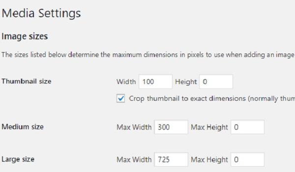 Việc thiết lập kích thước ảnh giúp hình ảnh đại diện hiển thị tốt hơn trên bài viết