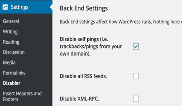 Vô hiệu hóa Self Pingback bằng cách sử dụng plugin là một trong những cách dễ thực hiện
