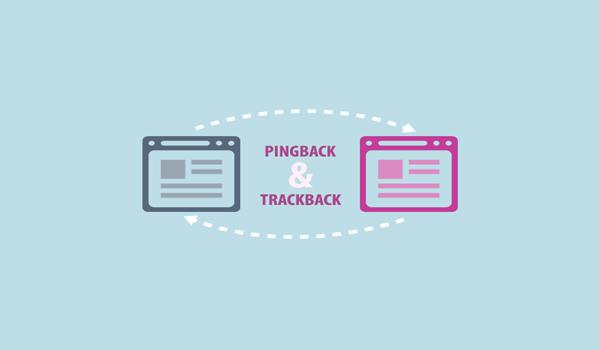 Pingback và Trackpack sử dụng các công nghệ giao tiếp khác nhau - thủ công và tự động