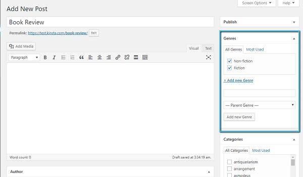 WordPress taxonomy là những mục mặc định của WordPress nhưng vẫn linh hoạt theo từng mục đích