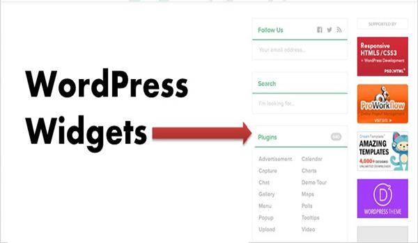 Widget là một công cụ trong WordPress.