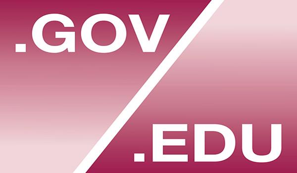 Site .gov hay .edu là những địa chỉ tin cậy có thể đặt backlink hiệu quả