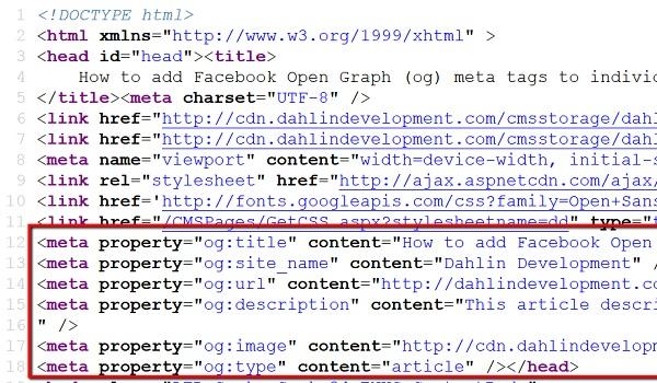 Nhiệm vụ các thuộc tính của Open Graph là giúp tối ưu hóa website trên các công cụ mạng xã hội