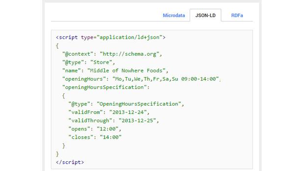 JSON-LD là phương pháp cài đặt Schema được Google khuyến nghị sử dụng