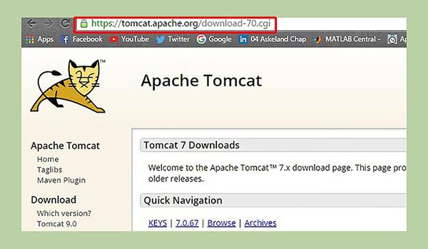 Cài đặt Apache Tomcat đơn giản và nhanh chóng