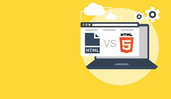 HTML và HTML5 có những điểm khác biệt