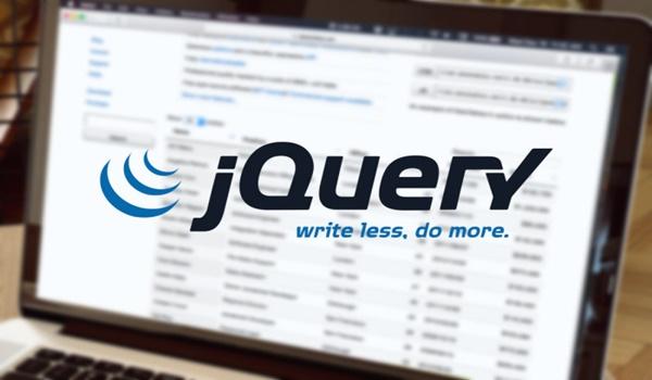 jQuery trải qua nhiều giai đoạn phát triển để hoàn thiện hơn