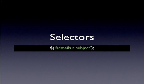 JQuery Selectors là một phần rất quan trọng trong thư viện jQuery
