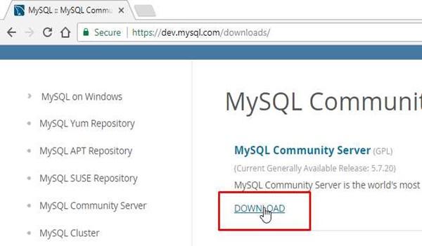 Cài đặt MySQL Server trên Windows không khó