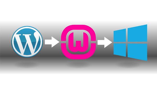 WAMP giúp phát triển website bằng WordPress mà không cần dùng internet