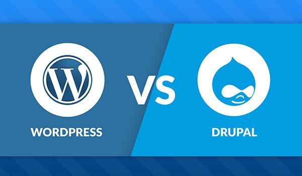 Drupal dành để tạo lập web chuyên sâu và WordPress thì ngược lại