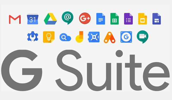 G Suite bao gồm rất nhiều công cụ và tính năng như: Gmail, Calendar, Drive,…