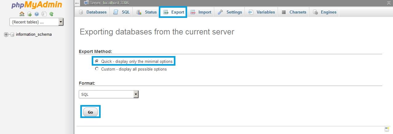 Joomla là gì? Cách Backup database