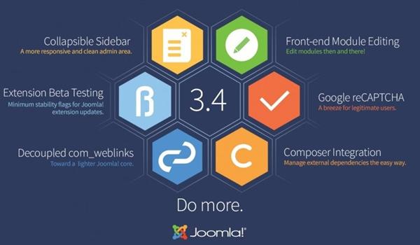 Joomla cung cấp nhiều tiện ít và bộ mở rộng khổng lồ