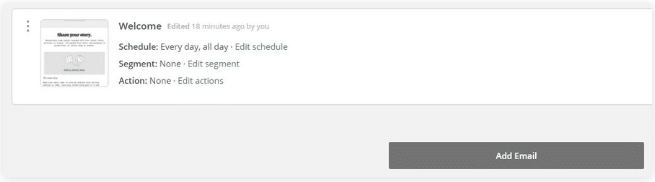 Sau khi bạn đã cài template, bạn sẽ có thể sửa nó bằng cách kéo thả. MailChimp cung cấp bạn rất nhiều cách để bạn có thể chỉnh sửa template của bạn: