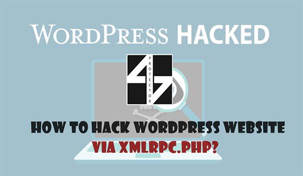 Việc kích hoạt XMLRPC sẽ khiến trang web dễ dàng bị hacker xâm nhập