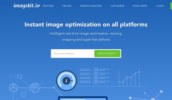 ImageKit cung cấp khá nhiều tính năng nổi bật mặc dù là một plugin mới