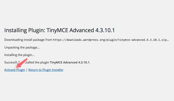 Thông báo yêu cầu kích hoạt plugin