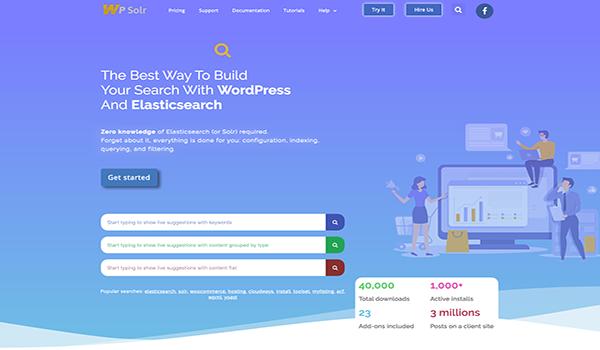 WPSolr giúp tối ưu hóa tốc độ của truy vấn tìm kiếm