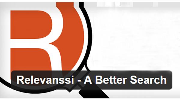 Relevanssi là một trong những plugin tìm kiếm phổ biến nhất trong kho lưu trữ WordPress