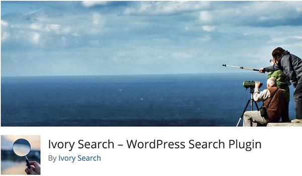 Với Ivory Search, bạn có thể tạo các biểu mẫu tìm kiếm tùy chỉnh và cho phép chúng hiển thị ở bất kỳ nơi nào trên trang web
