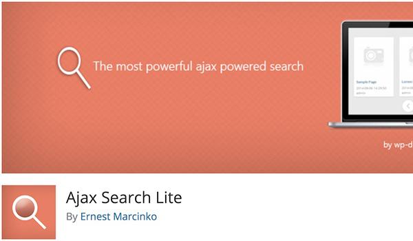 Ajax Search Lite có khả năng tìm kiếm và tương thích với rất nhiều loại định dạng trình duyệt khác nhau