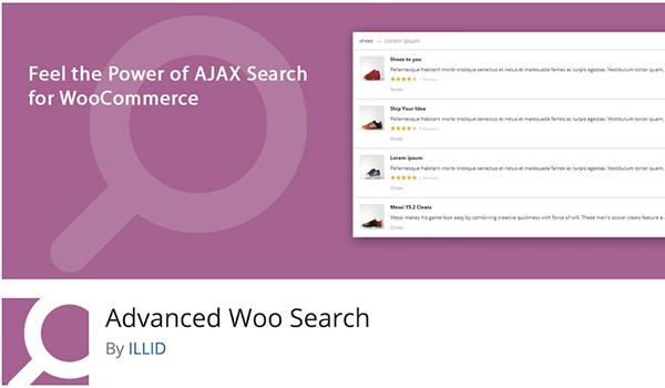 Advanced Woo Search chuyên về WooCommerce