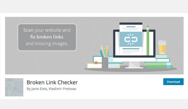 Broken Link Checker giúp bạn nhận biết các liên kết hỏng và dễ dàng xóa, chỉnh sửa