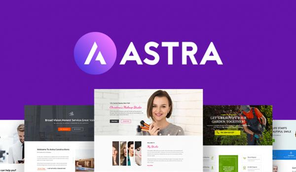 Astra theme là Theme wordpress rất được nhiều chuyên gia đánh giá cao