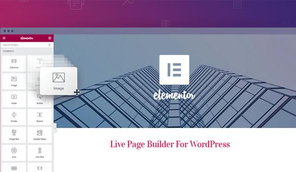 Hỗ trợ thiết kế website đơn giản với plugin Elementor Page Builder