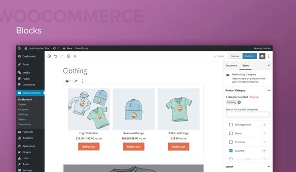 WooCommerce mang đến sự hỗ trợ đắc lực cho các trang web bán hàng