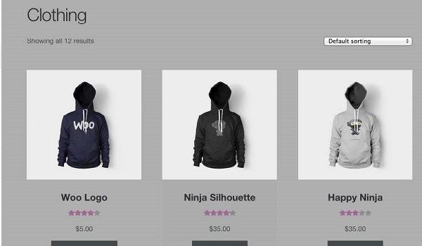 StoreFront có giao diện khá đơn giản và dễ sử dụng phù hợp với những website cơ bản