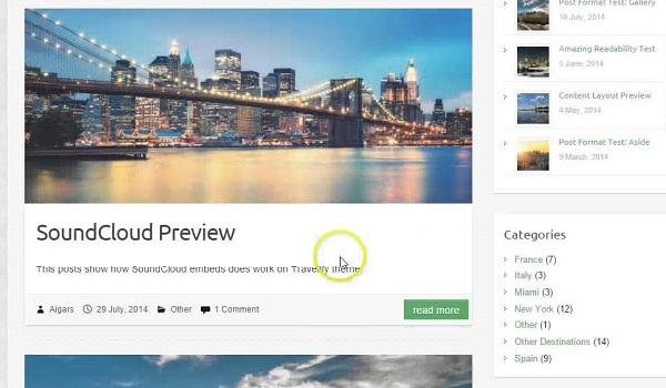 Ưu điểm của Theme WordPress WooCommerce Travelify chính là full responsive phù hợp với website bán hàng