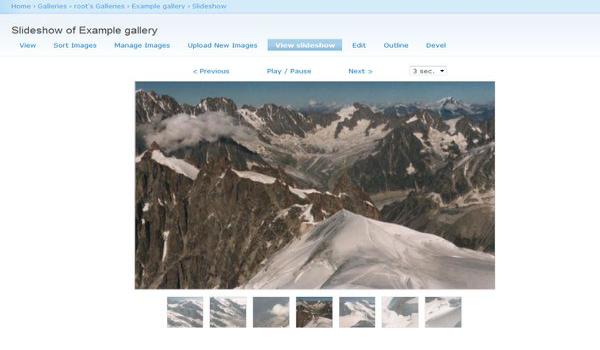 Sử dụng plugin Slideshow Gallery nhằm sắp xếp hình ảnh một cách chuyên nghiệp, ấn tượng, tạo sự thu hút cho khách hàng