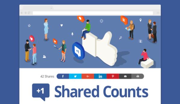Plugin WordPress miễn phí - Bạn có thể chia sẻ trang web của mình lên MXH nhớ plugin Shared Counts