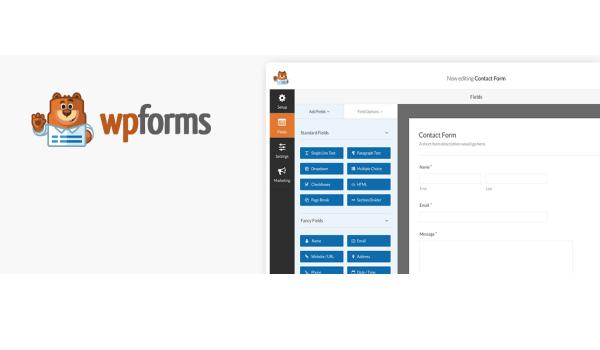 Plugin WordPress miễn phí -WPForms Lite là plugin có chức năng tạo ra các form bảng hỏi đẹp cho trang web của bạn