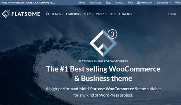 Flatsome chuyên cung cấp những theme WordPress chuẩn SEO
