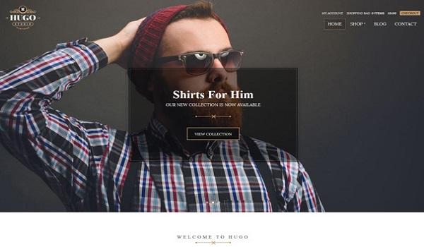 Theme WordPress tối ưu SEO Hugo cung cấp nhiều theme với màu sắc phong phú
